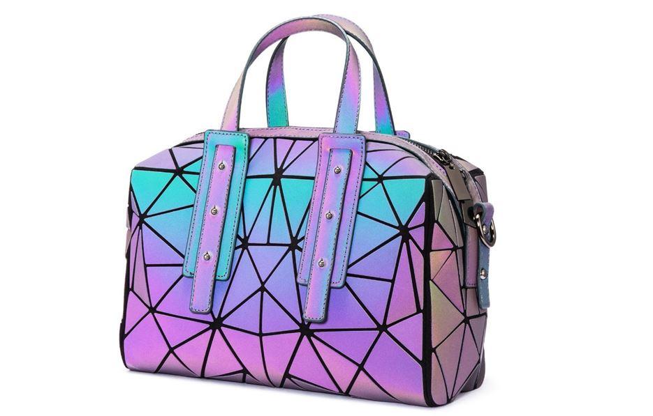 Lovevook Geometric Luminous Crossbody Bag