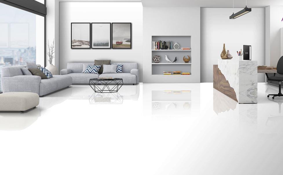 Artificial tiles for interior decoration
