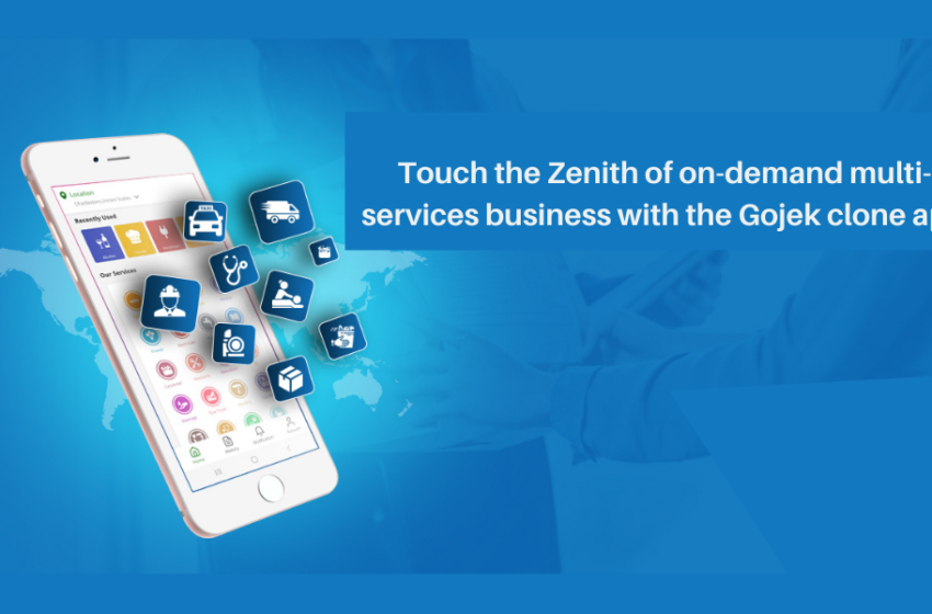 Touch the Zenith of On-Demand Multi-Services Business with the Gojek Clone App