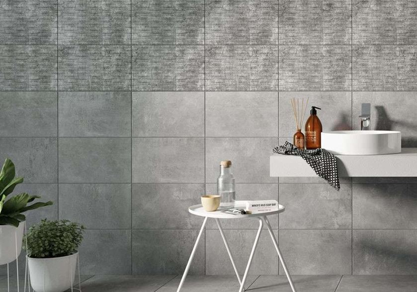 glue the tiles