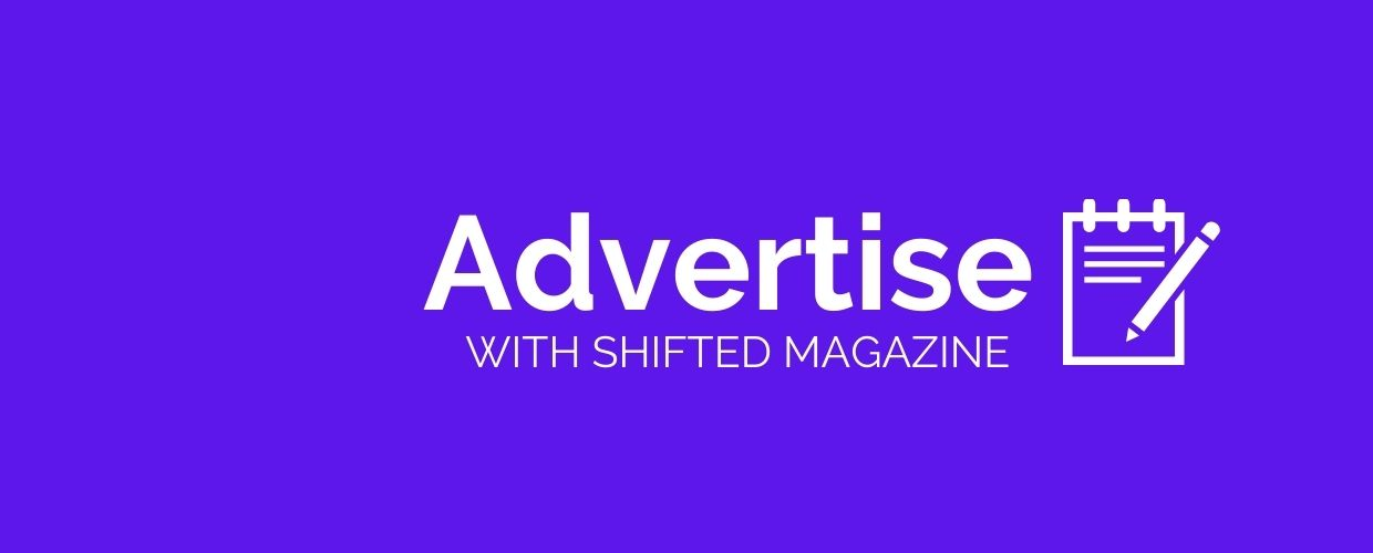 Advertise with shifted magazine