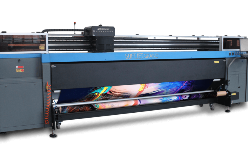 How a Soft Signage Printing Machine Works