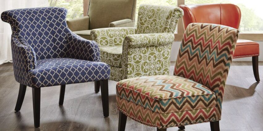 Add Style and Function to Any Room Using Accent Chairs