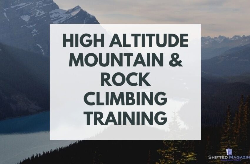Training for High Altitude Mountain & Rock Climbing from Home