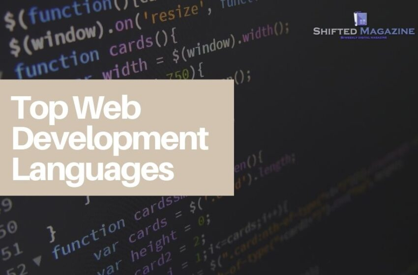 Top Web Development Languages in Today's World