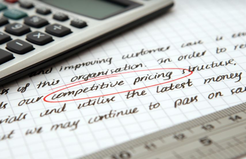 competitive pricing