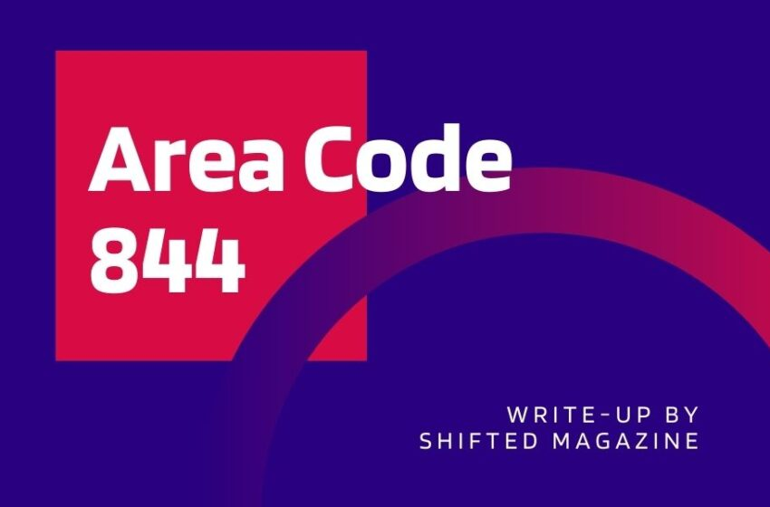 Where is Area Code 844 Located?