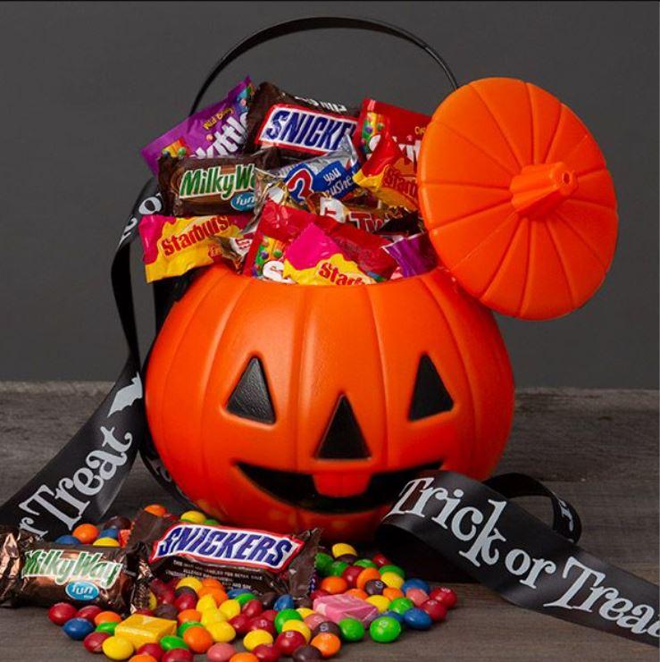 Chocolate Delight Halloween Basket