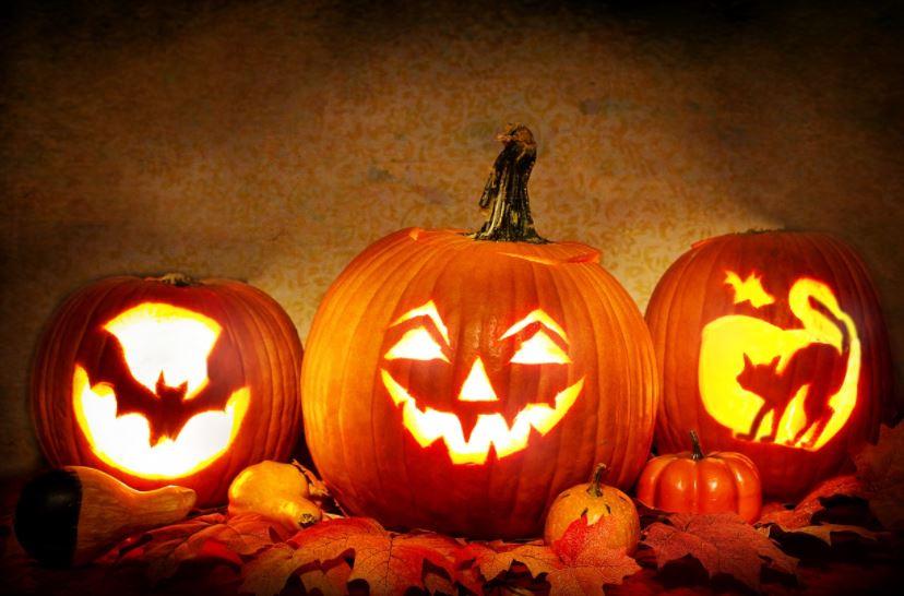Ghost Villa Halloween Basket