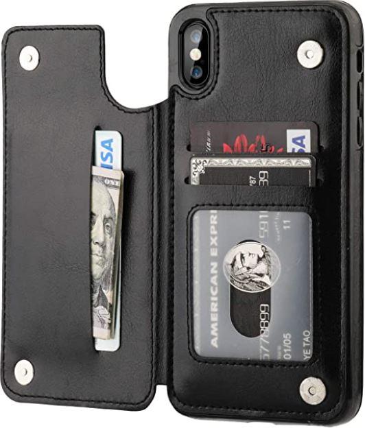 OT ONETOP iPhone XS Cardholder Case