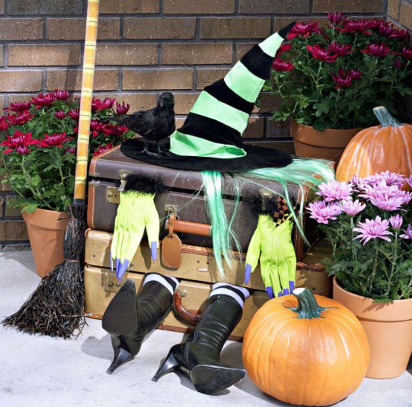 Scary Witch Spooky Bucket