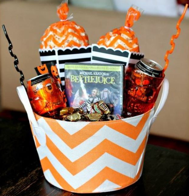 Self-care Spooky Basket kit