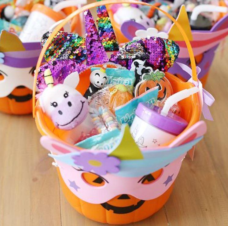 Spooky Halloween Wire Basket