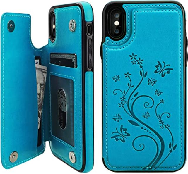 Vaburs iPhone XS Cardholder Case
