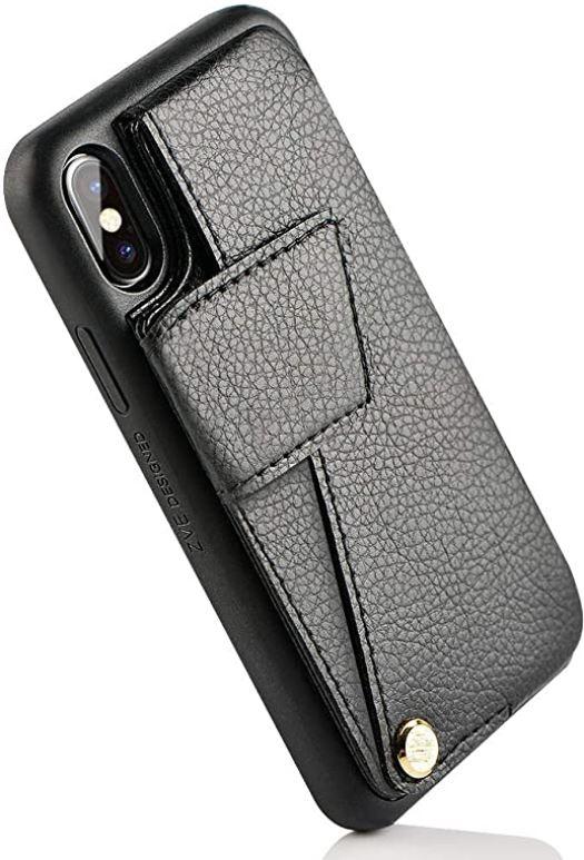 ZVEdeng iPhone XS Cardholder Case