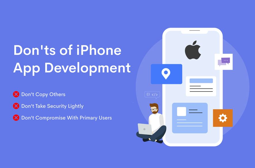 Don'ts of the iPhone app development