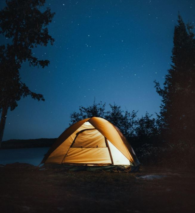 keep your tent closed